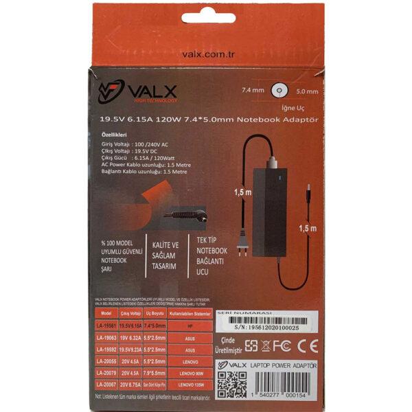 Valx-LA-19561-19.5V-6.15A-7.4x5.0-Notebook-Adaptör-1 alkayaelektronik.com